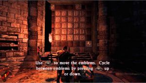 Uncharted 3 Wall Mural Uncharted 3 Chapter 6 Guardians Puzzle
