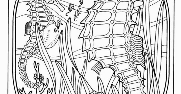 Under the Sea Coloring Pages Printable Coloring Pages Exquisite Ocean Coloring Pages for Adults