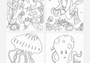 Under the Sea Coloring Pages Printable Under the Sea Coloring Pages Mr Printables