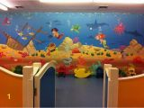 Under the Sea Murals for Walls Kids Playroom Underwater Wall Mural theme