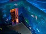 Under the Sea Murals for Walls Under the Sea Glow In the Dark Mural at A Private Residence