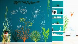 Under the Sea Murals for Walls Underwater Wall Decal Under the Sea Aquarium Vinyl Art