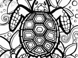 Under the Sea Printable Coloring Pages Coloring Pages Turtle