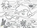 Under the Sea Printable Coloring Pages Free Ocean