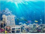 Underwater Ocean Wall Murals Tropical Sea Level Mural Wallpaper