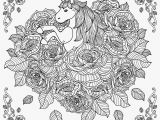 Unicorn Coloring Pages for Adults Rose Unicorn Mandala Coloring Pages Unicorn Mandala Unicorns