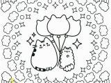 Unicorn Pusheen Coloring Pages Pusheen Ice Cream Bar Mandala to Color