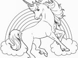 Unicorn Rainbow Coloring Pages Printable Best Printable Coloring Sheet Unicorn for Kids Con