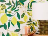 Urban Outfitters Wall Mural Urban Outfitters Lemons Removable Wallpaper