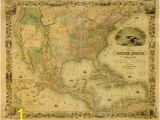 Us Map Wall Mural 8 X10 Wall Mural Of the Us Map Circa 1849