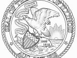 Us Seal Coloring Page Coloring 53 Marvelous 50 States Coloring Book