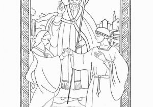 Valentine Coloring Pages for Sunday School Saint Valentine Coloring Page Catholic Playground