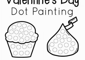 Valentine Connect the Dots Coloring Pages Valentine S Day Dot Painting the Resourceful Mama