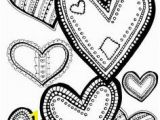 Valentine Heart Coloring Pages 238 Best Hearts & Love Coloring Pages Images On Pinterest