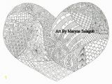 Valentine Heart Coloring Pages 29 Luxury Valentine Heart Coloring Page