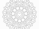 Valentine S Day Mandala Coloring Pages Valentine S Day Coloring Pages Ebook Heart Mandala