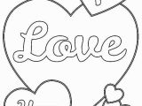Valentines Day Coloring Pages Printable I Love You Heart Coloring Pages with Images
