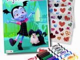 Vampirina Coloring Pages Disney Junior Disney Studios Vampirina Coloring Book Super Set with Vampirina Stickers and More