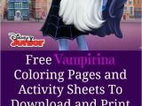 Vampirina Coloring Pages Disney Junior Free Vampirina Coloring Pages and Activity Sheets to