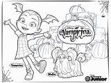 Vampirina Coloring Pages Disney Junior Sebastian Jaryniuk Jaryniuk Na Pintereście