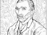 Van Gogh Coloring Pages for Kids Kids N Fun