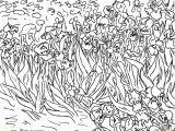 Van Gogh Coloring Pages for Kids Thiel Academy Picture Study Vincent Van Gogh