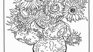 Van Gogh Coloring Pages for Kids Vincent Van Gogh Free to Color for Children Vincent Van