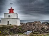 Vancouver island Wall Murals Amphitrite Lighthouse