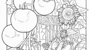 Vegetable Garden Coloring Pages Printable Color with Images