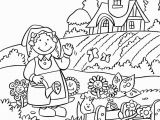 Vegetable Garden Coloring Pages Printable New Coloring Horticulture Coloring Pages