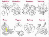 Vegetable Garden Coloring Pages Printable Ve Ables Salad Coloring and Crafting Salade De Legumes