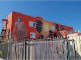 Venice Beach Wall Murals This Jim Morrison Doors Mural Overlooks An Alley In Venice