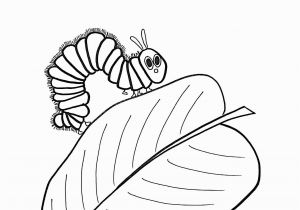Very Hungry Caterpillar Book Coloring Pages Caterpillar Coloring Page Unique Very Hungry Caterpillar Coloring
