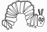 Very Hungry Caterpillar Book Coloring Pages Hungry Caterpillar Coloring Page March