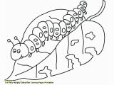 Very Hungry Caterpillar Coloring Page May 2018