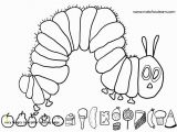 Very Hungry Caterpillar Coloring Pages Printables Hungry Caterpillar Coloring Pages Caterpillar Coloring Page Lovely