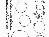 Very Hungry Caterpillar Coloring Pages Printables the Very Hungry Caterpillar Colouring Pages 1 5