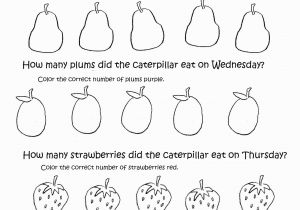 Very Hungry Caterpillar Coloring Pages Printables Very Hungry Caterpillar Coloring Pages Free Download Caterpillar