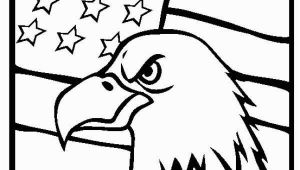 Veterans Day Coloring Pages American Eagle and Us Flag Veterans Day Coloring Page