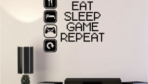 Video Game Wall Murals Vinyl Decal Gaming Video Game Gamer Lifestyle Quote Wall