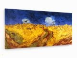 Vincent Van Gogh Wall Murals Leinwandbild Standard Vincent Van Gogh Kornfeld Mit Krähen 1890