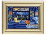 Vincent Van Gogh Wall Murals Vincent Van Gogh Framed Art Print Framed Print Brushed Gold Frame Home Decor Wall Art Print Van Gogh