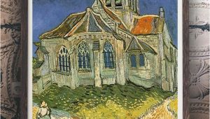 Vincent Van Gogh Wall Murals Vincent Van Gogh the Church at Auvers Oil Painting
