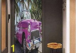 Vintage Car Wall Murals Amazon Efzc Self Adhesive Wall Murals Cars Classic