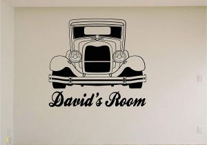 Vintage Car Wall Murals Amazon Hot Rod Car Wall Decals Stickers Mural Home