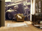 Vintage Car Wall Murals Us $20 99 Custom 3d Wallpaper Mural Classic Vintage Car Automobile Exhibition Tv sofa Bedroom Living Room Cafe Bar Restaurant Setting Wall W Tapety