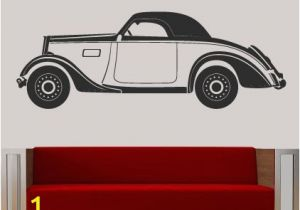 Vintage Car Wall Murals Vintage Classic Car Wall Sticker Decal