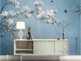 Vintage Floral Wall Mural Floral Wallpaper Vintage Flower Wall Mural Magnolia Blossom