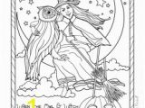 Vintage Halloween Coloring Pages Vintage Coloring Pages for Adults