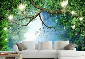 Vintage Landscape Mural Wallpaper 3d Wallpaper Beautiful Nature Scenery Fluorescent Mural Wall